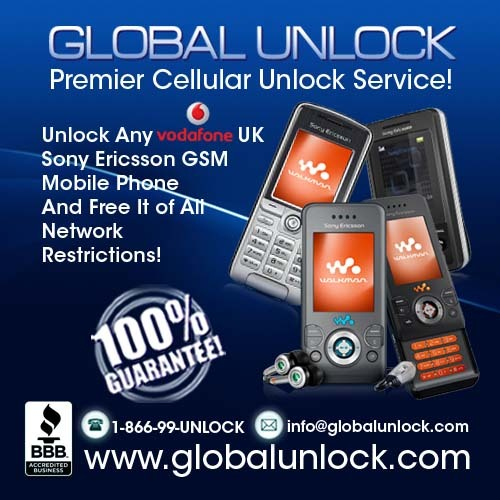 Product picture How To Unlock Vodafone UK Sony Ercissson By Code