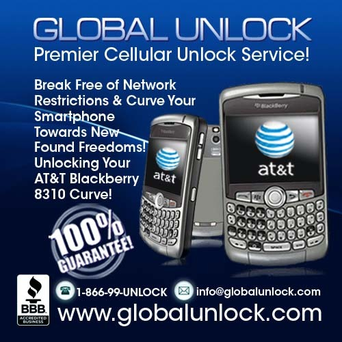 Product picture How To Unlock AT&T Blackberry 8310 Curve By Code