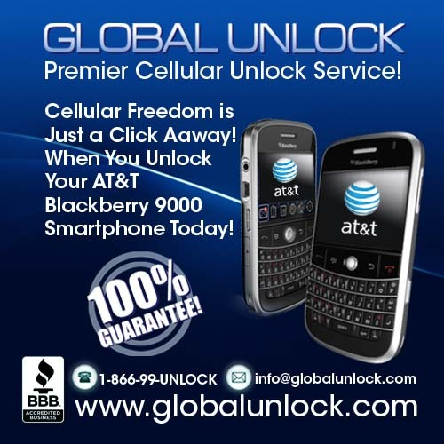 Product picture How To Unlock AT&T Blackberry 9000