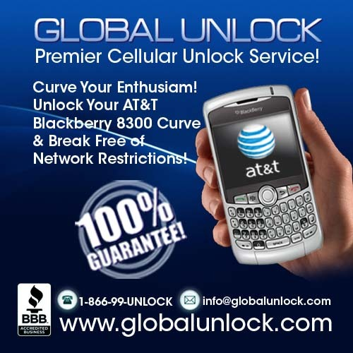 Product picture How To Unlock ATT Blackberry 8300